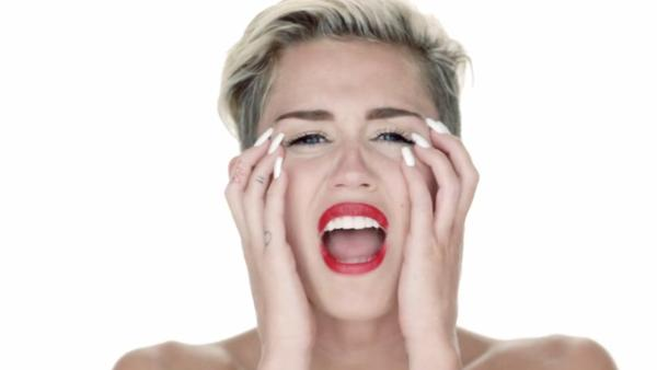 Miley Cyrus appears in the 2013 music video for her song Wrecking Ball. - Provided courtesy of RCA Records