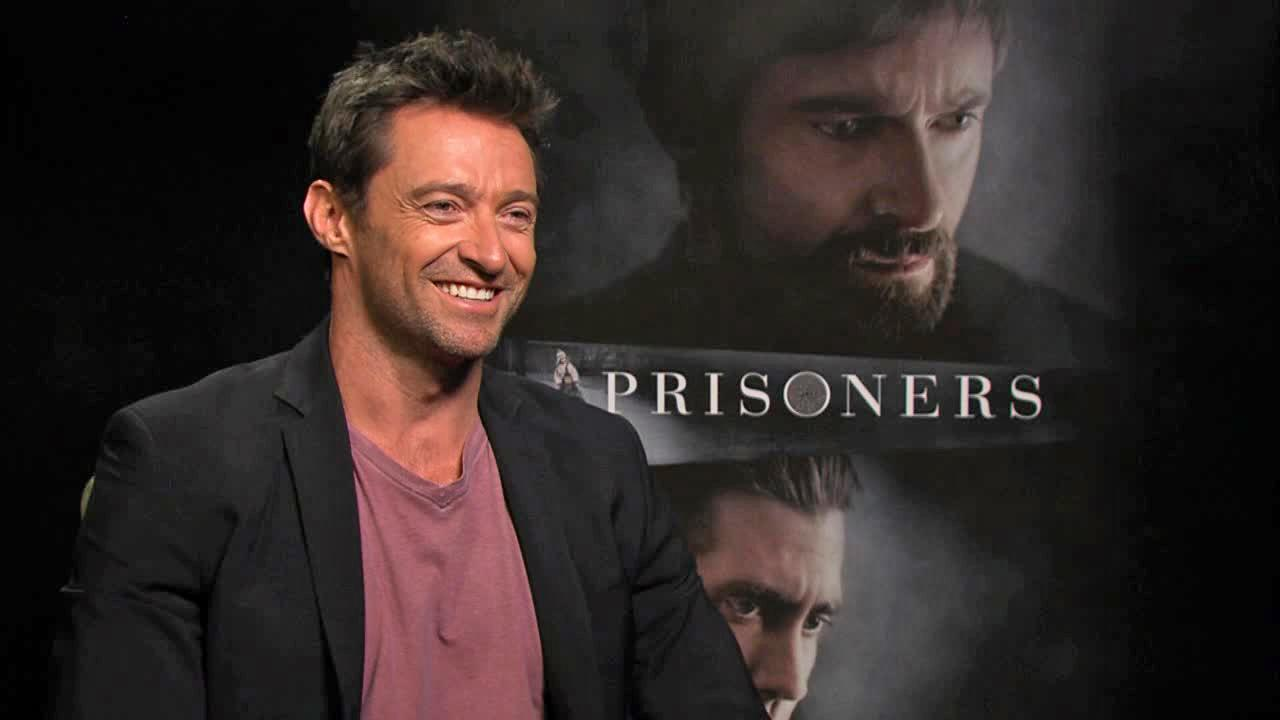 Hugh Jackman appears in an interview with OTRC.com on Sept. 5, 2013.