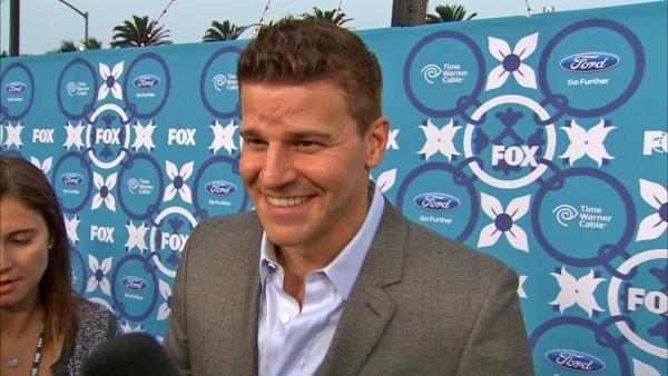 David Boreanaz talks to OTRC.com about season 9 of Bones at FOXs Eco-Casino party celebrating the upcoming Fall 2013 TV season on Sept. 9, 2013. - Provided courtesy of OTRC