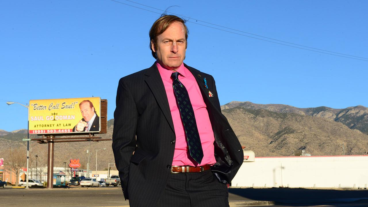 Saul Goodman (Bob Odenkirk) appears in a scene from season 5 of AMCs Breaking Bad.