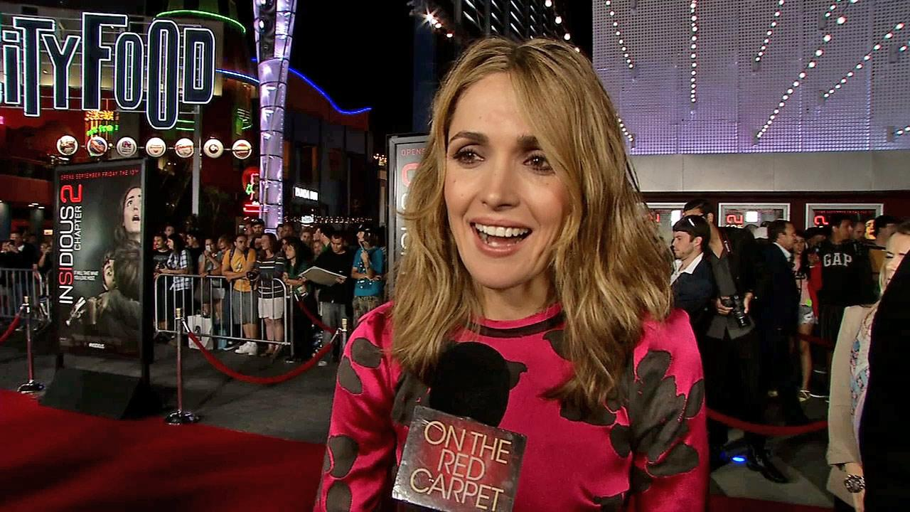 Rose Byrne talks to OTRC.com at the premiere of the film Insidious: Chapter 2 in Los Angeles on Sept. 10, 2013.