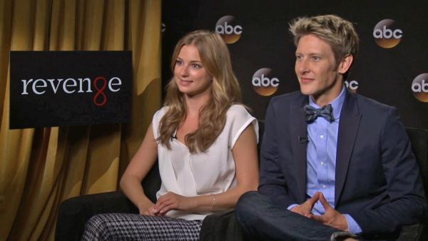 Revenge stars Emily VanCamp and Gabriel Mann talk to OTRC.com about season 3 of the ABC show, which debuts on Sept. 29, 2013. - Provided courtesy of OTRC