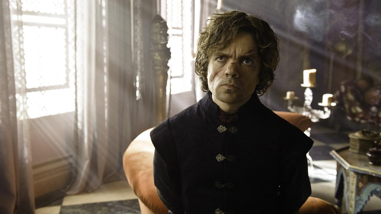 Peter Dinklage appears in a scene from season 3 of the HBO series Game of Thrones.