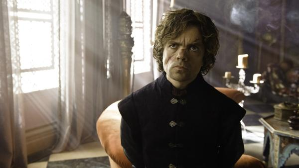 Peter Dinklage appears in a scene from season 3 of the HBO series Game of Thrones. - Provided courtesy of HBO / Helen Sloan