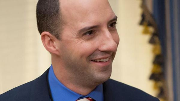 Tony Hale appears in a scene from season 2 of the HBO series Veep. - Provided courtesy of HBO