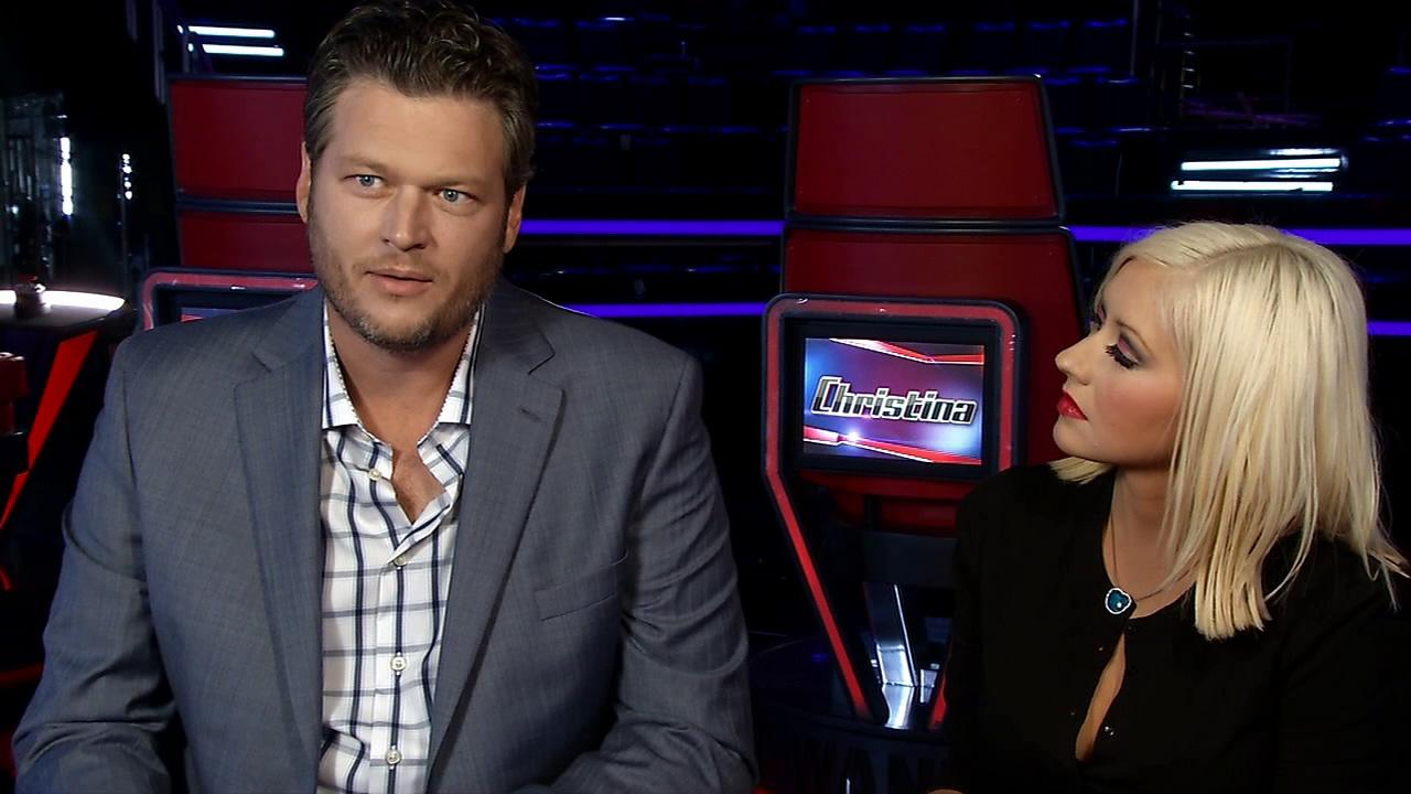 Blake Shelton and Christina Aguilera talk to OTRC.com about season 5 of NBCs The Voice, which premieres on Sept. 23, 2013.