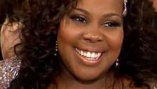 Amber Riley talks to OTRC.com after week 1 on Dancing With The Stars on Sept. 16, 2013. - Provided courtesy of OTRC