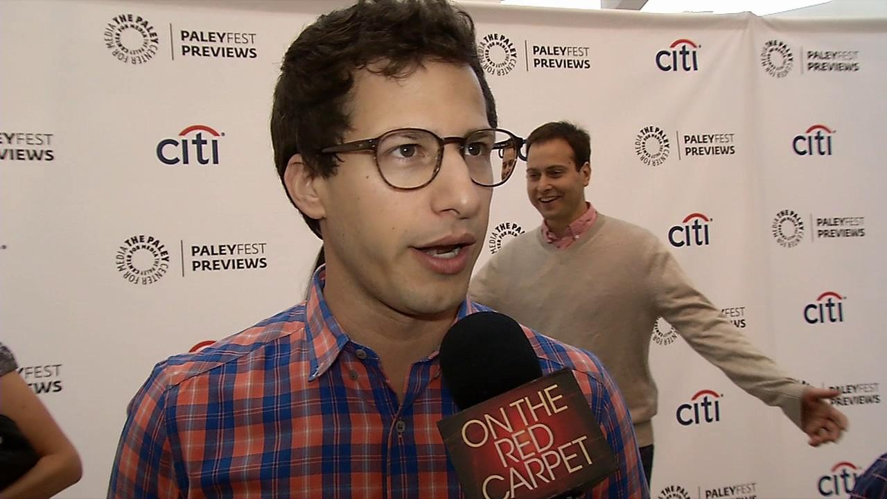 Andy Samberg talks to OTRC.com about his new FOX comedy series Brooklyn Nine-Nine at a Paley Center for Media event on Sept. 9, 2013.