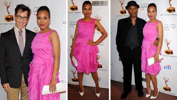 Kerry Washington arrives at the Academy of Television Arts and Sciences Dynamic and Diverse 65th Emmy Awards Nominee Celebration in North Hollywood, California on Sept. 17, 2013. - Provided courtesy of Scott Kirkland / Invision for Academy of Television Arts and Sciences / AP Images