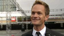 Neil Patrick Harris talks to OTRC.com after helping to roll out the 2013 Emmy Awards red carpet  near L.A. Lives Nokia Theatre on Sept. 18, 2013, four days before the award show. - Provided courtesy of OTRC