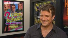 Nathan Fillion talked to OTRC.com on the set of Castle on Aug. 12, 2013. - Provided courtesy of OTRC