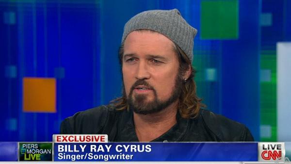 Billy Ray Cyrus appears on CNNs Piers Morgan Tonight on Sept. 19, 2013. He talked about the controversy of daughter Miley Cyrus MTV VMAs performance and Wrecking Ball music video. - Provided courtesy of CNN