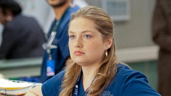 Merrit Wever appears in a scene from the Showtime series Nurse Jackie. - Provided courtesy of Showtime Networks