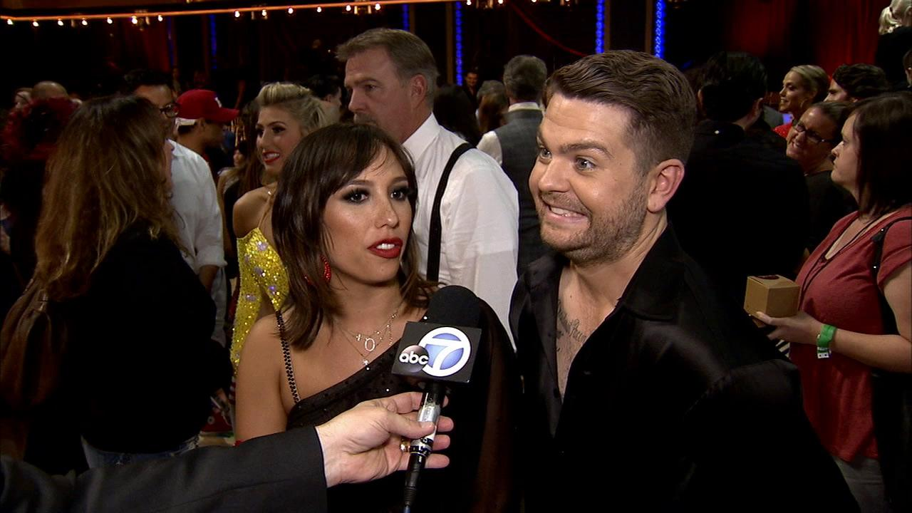 Jack Osbourne and Cheryl Burke talk to OTRC.com after week 2 on Dancing With The Stars on Sept. 23, 2013.