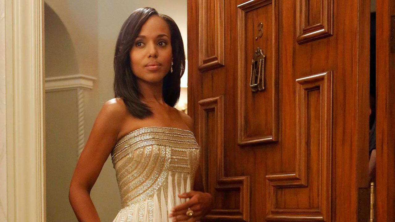 Kerry Washington appears in the Scandal season 2 episode Happy Birthday, Mr. President, which aired on Dec. 6, 2012.