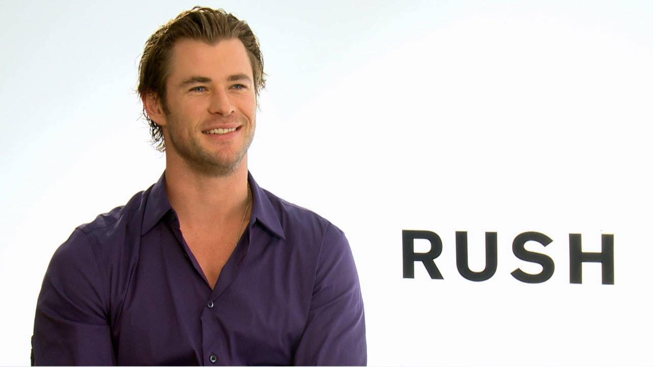Chris Hemsworth talks to OTRC.com about the 2013 film Rush.