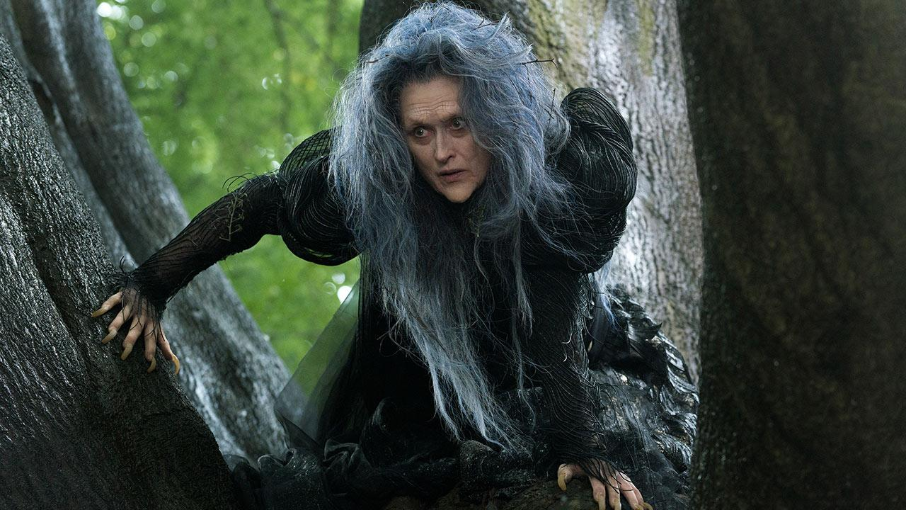 Meryl Streep appears as the witch in the 2014 movie Into The Woods.