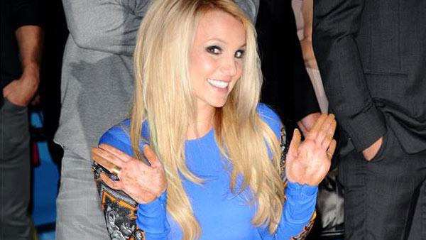 Britney Spears appears at Graumans Chinese Theatre in Los Angeles, California for a commemorative handprint ceremony for the season 2 premiere of FOXs The X Factor on Sept. 11, 2012. - Provided courtesy of Sara De Boer /  Startraksphoto.com