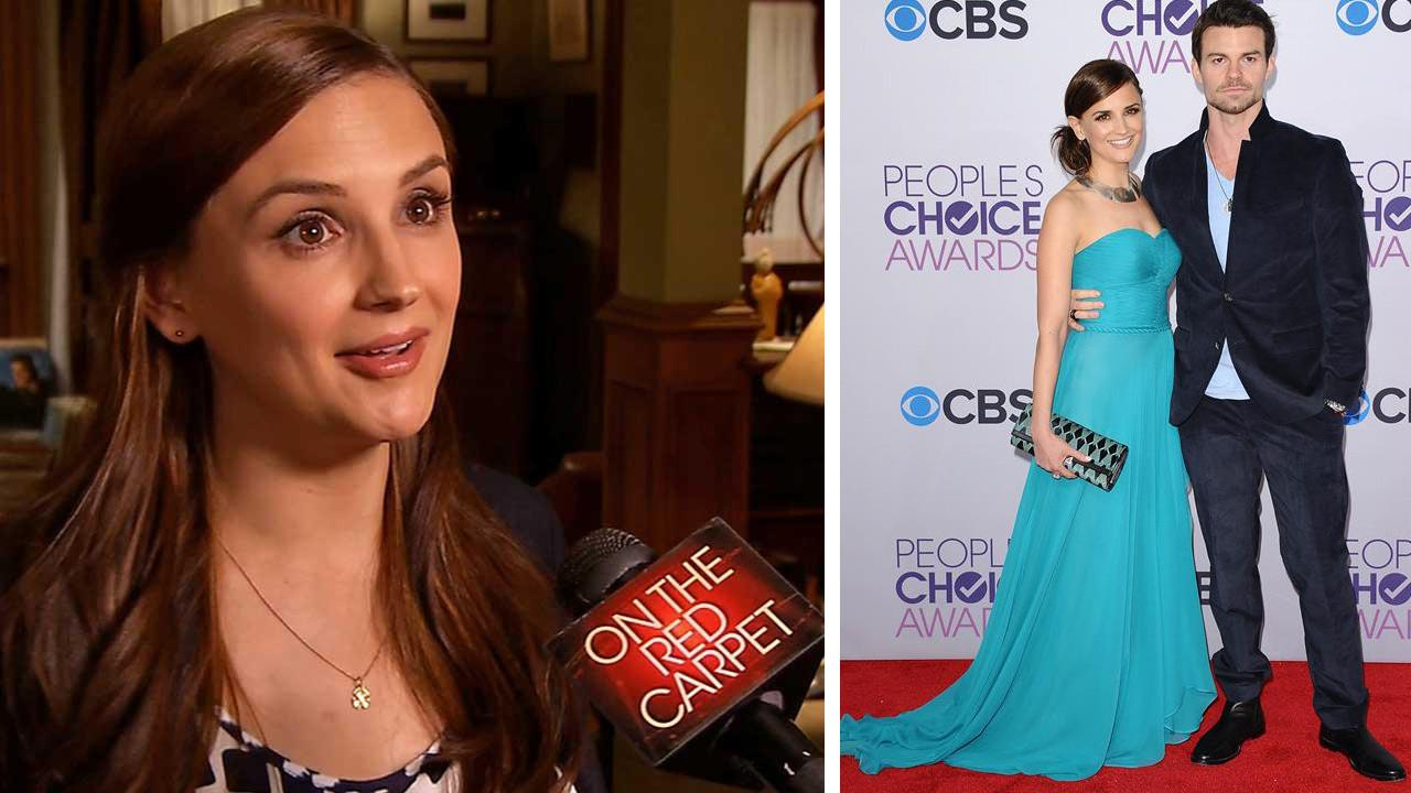 Rachael Leigh Cook talks to OTRC.com about the TNT drama series Perception in June 2013. / Rachael Leigh Cook and husband David Gillies attends the 2013 Peoples Choice Awards on Jan. 9, 2013.