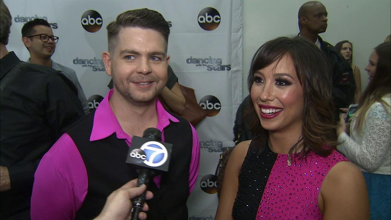 Jack Osbourne and Cheryl Burke talk to OTRC.com after week 3 on Dancing With The Stars on Sept. 30, 2013.