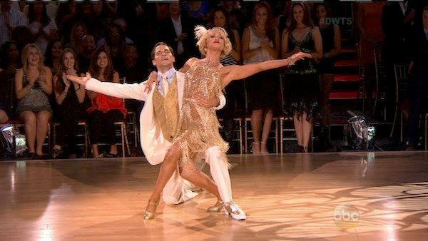 Brant Daugherty and Peta Murgatroyd appear on week 3 of Dancing With The Stars season 17 on Sept. 30, 2013. - Provided courtesy of ABC