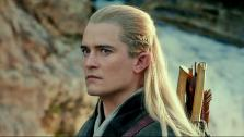 Orlando Bloom appears as Legolas in a scene from the 2013 movie The Hobbit: The Desolation of Smaug. - Provided courtesy of Warner Bros. Pictures