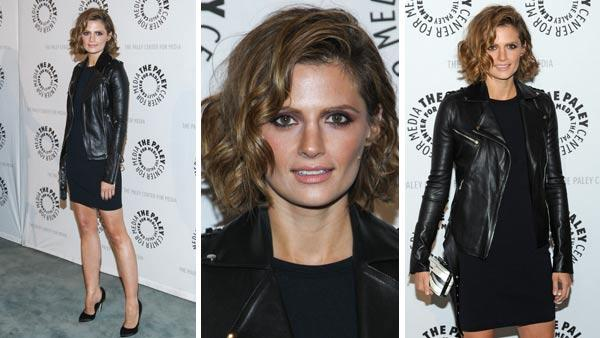 Stana Katic appears at a Paley Center event for the ABC series Castle. - Provided courtesy of AP / Paul A. Hebert / Kevin Parry for Paley Center