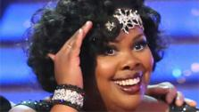Amber Riley appears on week 3 of Dancing With The Stars on Sept. 30, 2013. - Provided cou