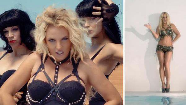 Britney Spears appears in her 2013 music video, Work B----. - Provided courtesy of RCA Records