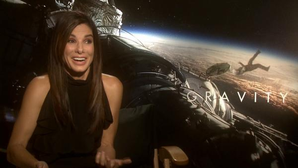 Sandra Bullock talks to OTRC.com about the 2013 film Gravity in September 2013. - Provided courtesy of OTRC