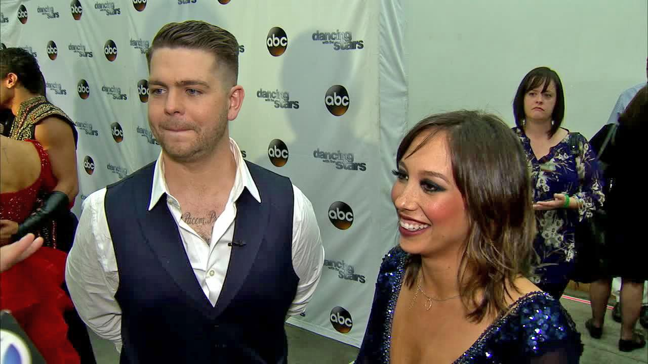 Jack Osbourne and Cheryl Burke talk to OTRC.com after week 4 on Dancing With The Stars on Oct. 7, 2013.