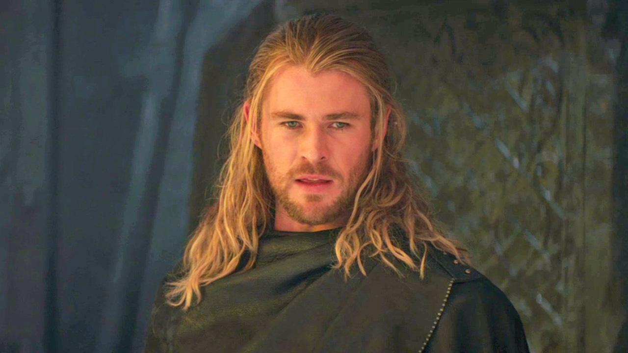 Chris Hemsworth (Thor) appears in a scene from the 2013 movie Thor: The Dark World.Marvel Studios / Walt Disney Studios