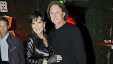 Kris and Bruce Jenner appear at daughter K