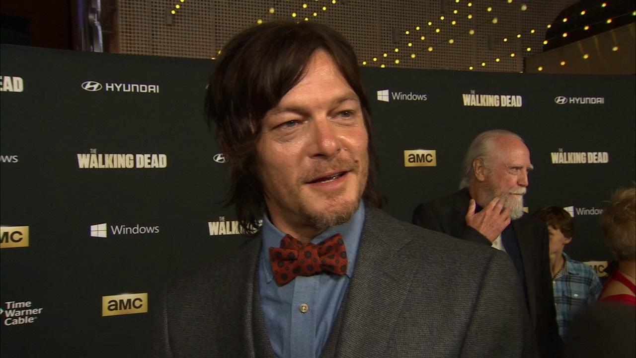 Norman Reedus (Daryl Dixon) talks to OTRC.com about season 4, which premieres on Oct. 13, 2013, at the AMCs shows premiere in Los Angeles on Oct. 3.