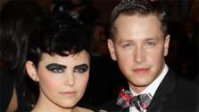 Ginnifer Goodwin and boyfriend Josh Dallas, who play Snow White and Prince Charming on ABCs Once Upon A Time, attend the PUNK: Chaos To Couture Costume Institute Gala at the Metropolitan Museum of Art in New York on May 6, 2013. - Provided courtesy of Marion Curtis / Startraksphoto.com