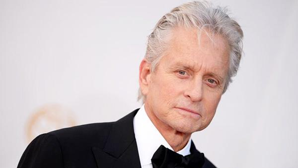 Michael Douglas appears at the 65th Annual Primetime Emmy Awards in Los Angeles on Sept. 22, 2013. - Provided courtesy of Lionel Hahn/AbacaUSA/startraksphoto.com