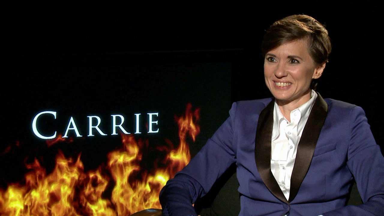 Kimberly Peirce spoke to OTRC.com about Carrie, in theaters Oct. 18, 2013.