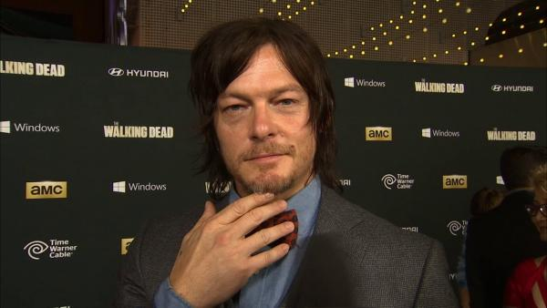 Norman Reedus (Daryl Dixon) talks to OTRC.com about season 4, which premieres on Oct. 13, 2013, at the AMCs shows premiere in Los Angeles on Oct. 3. - Provided courtesy of OTRC