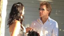 Jon Bon Jovi appears with bride Branka Delic on her wedding day on Saturday, Oct. 12, 2013, as seen in her Twitter profile picture. - Provided courtesy of twitter.com/branksd