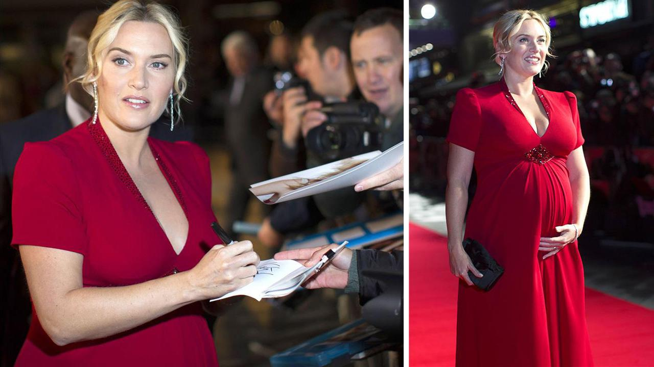 Kate Winslet attends the premiere of Labor Day in London on Oct. 14, 2013.