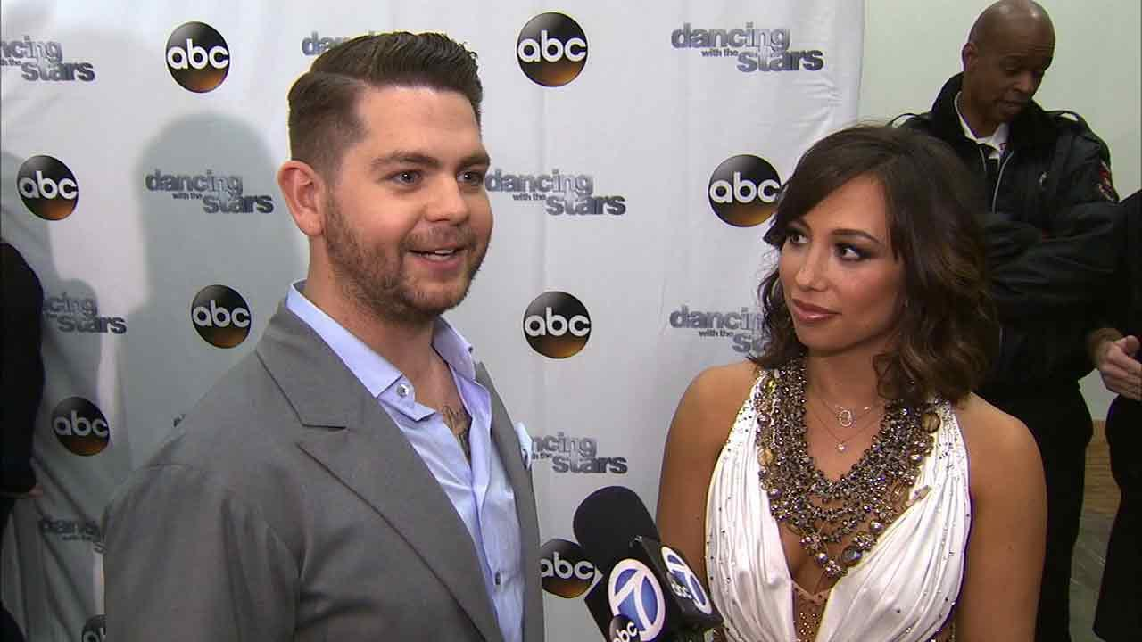 Jack Osbourne and Cheryl Burke talk to OTRC.com after week 5 on Dancing With The Stars on Oct. 14, 2013.