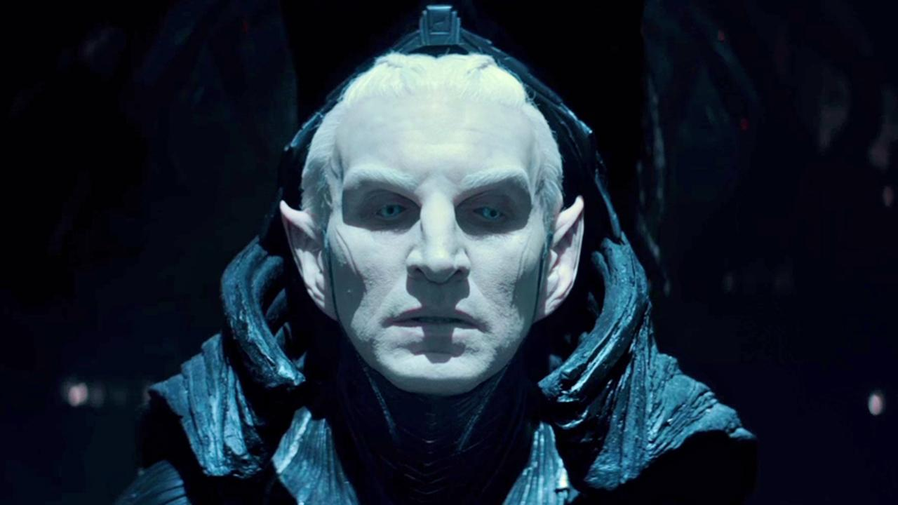 Christopher Eccleston appears as Malekith in a scene from Thor: The Dark World.Marvel Studios / Walt Disney Studios