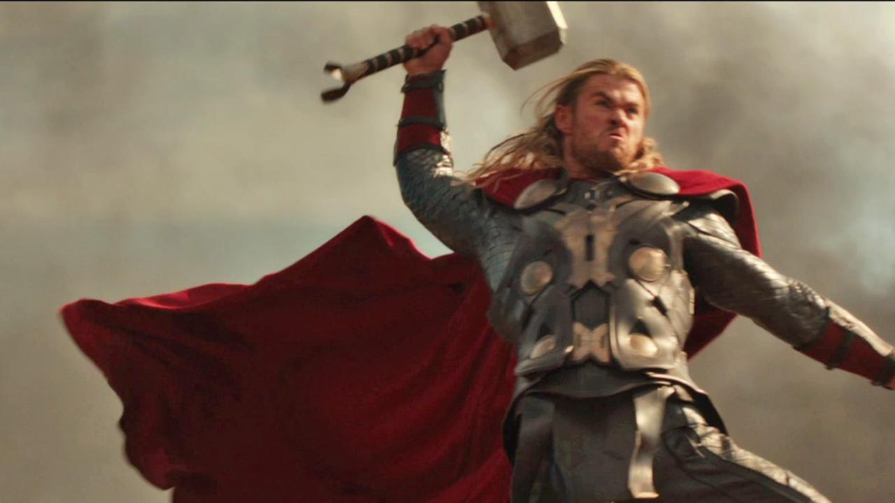 Chris Hemsworth appears as Thor in a scene from Thor: The Dark World.Marvel Studios / Walt Disney Studios