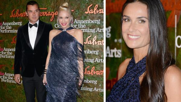 Gwen Stefani, Gavin Rossdale and Demi Moore attend the Wallis Annenberg Center for the Performing Arts Inaugural Gala, presented by Salvatore Ferragamo, at the Wallis Annenberg Center in Beverly Hills on Oct. 17, 2013. - Provided courtesy of Lionel Hahn / AbacaUSA / Startraksphoto.com