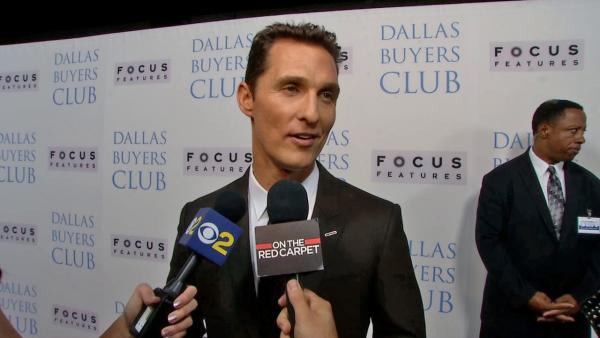 Matthew McConaughey attends the premiere of Dallas Buyers Club in Los Angeles on Oct. 17, 2013. - Provided courtesy of OTRC