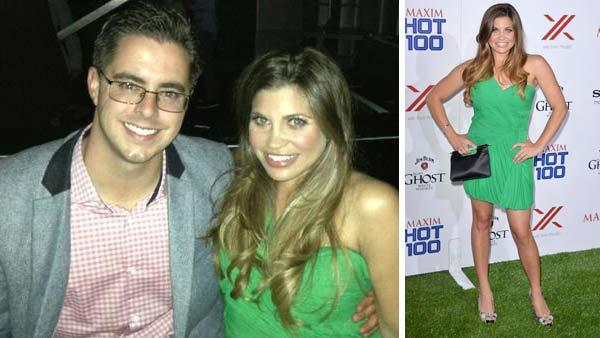 Danielle Fishel appears at the 2013 Maxim Hot 100 party with husband Tim Belusko on May 15, 2013 in a photo posted on her official Twitter account. - Provided courtesy of twitter.com/daniellefishel / Tony Dimaio / startraksphoto.com