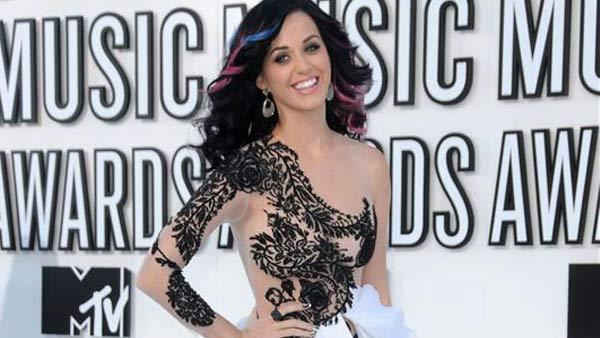 Katy Perry appears at the 2010 MTV Video Music Awards in Los Angeles, California on Sept. 12, 2010. - Provided courtesy of Kyle Rover / startraksphoto.com