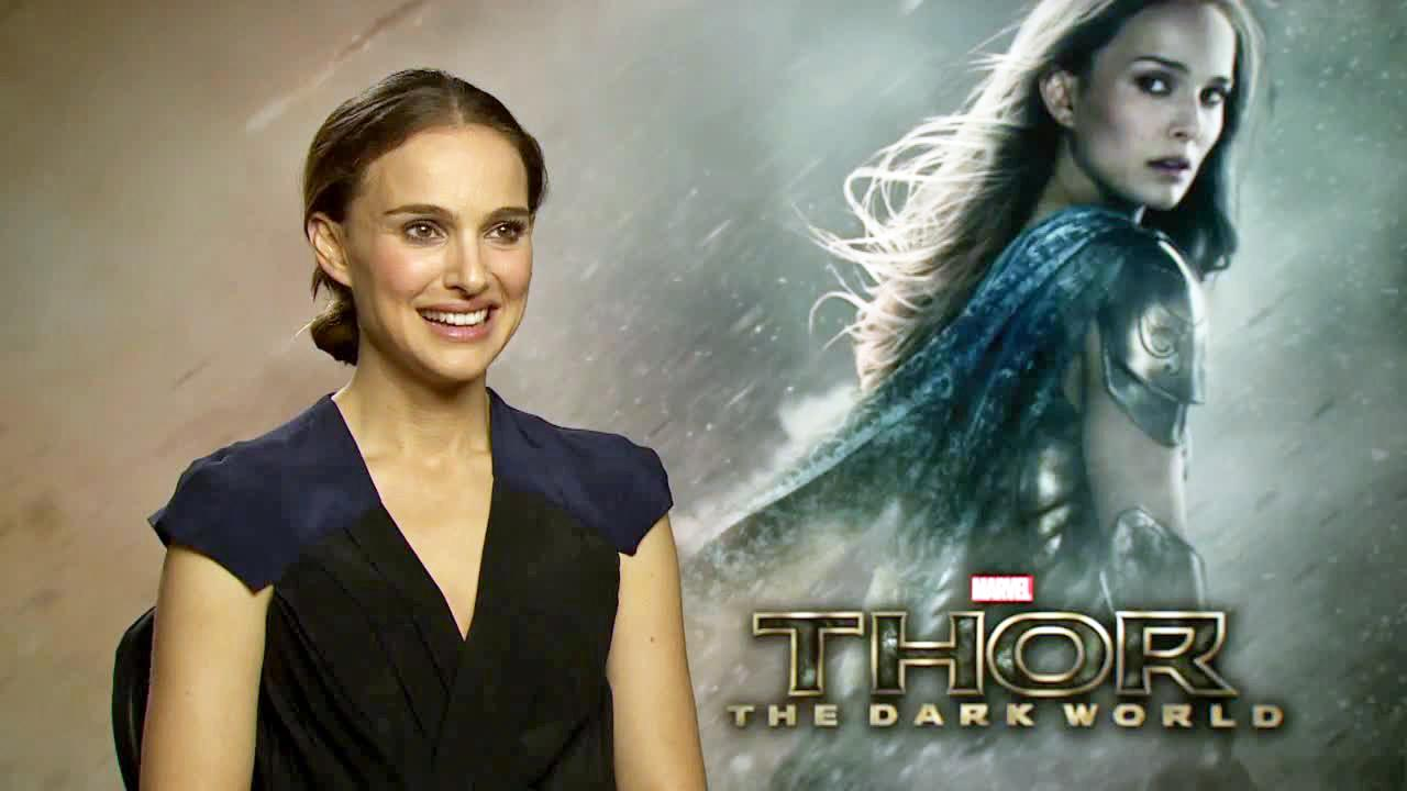 Natalie appears in an interview with OTRC.com for Thor: The Dark World on Oct. 19, 2013.