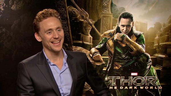 Tom Hiddleston talks to OTRC.com about 'Thor: The Dark World' and his acting career in an October 2013 interview in London.