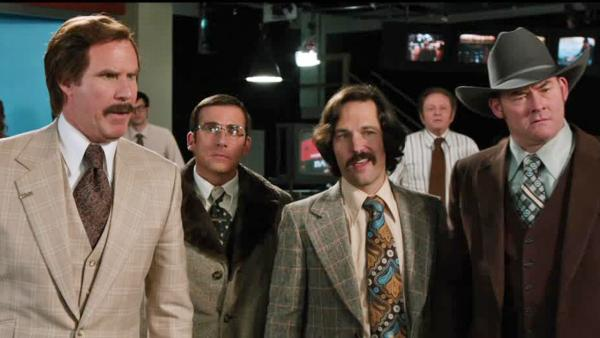 Will Ferrell, Steve Carell, Paul Rudd and David Koechne appear in a second trailer for the 2013 movie Anchorman: The Legend Continues.